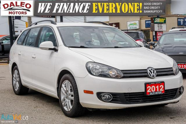 2012 Volkswagen Golf Wagon TDI | HEATED SEATS | CRUISE CONTROL |