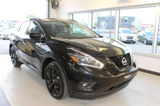 Used 2018 Nissan Murano SL MIDNIGHT AWD TOIT GPS CUIR CAMÉRAS for sale in Lévis, QC