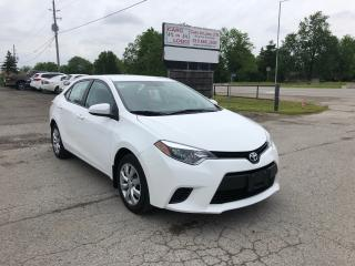 Used 2014 Toyota Corolla LE for sale in Komoka, ON