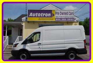Used 2017 Ford Transit 250 3/4 Ton Mid Roof Cargo Van, Loaded for sale in Woodbridge, ON