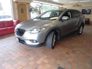 Used 2013 Mazda CX-9 7passenger NAVIGATION B-TOOTH BLIND SPOT NO ACCIDE for sale in Oakville, ON