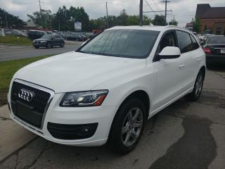 Used 2011 Audi Q5 2L Premium + BROWN LEATHER for sale in North York, ON