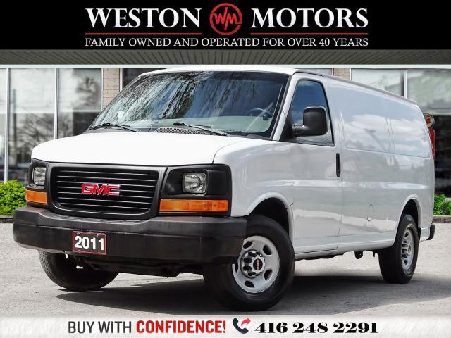 2011 GMC Savana 2500 2500*4.8L*SHELVING*