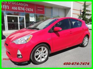 Used 2012 Toyota Prius c GROUPE TECH. DÉMARRAGE SANS CLEF, TOIT OUVRANT for sale in Longueuil, QC