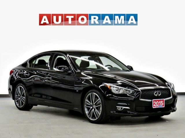 2015 Infiniti Q50 Navigation 4WD Leather Sunroof Backup Cam