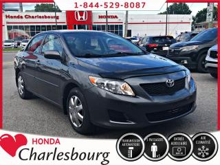 Used 2010 Toyota Corolla for sale in Charlesbourg, QC