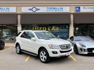 Used 2009 Mercedes-Benz M-Class 3.5L Gas, Fully Loaded, Clean CarFax for sale in Vaughan, ON