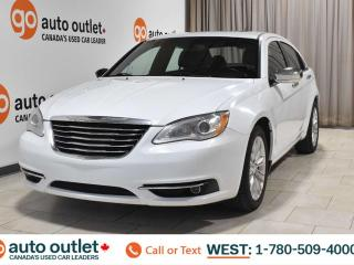 Used 2013 Chrysler 200 Limited, fwd, heated front seats, sunroof, satellite radio for sale in Edmonton, AB