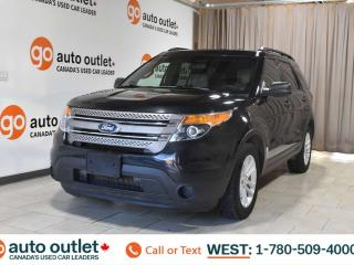 Used 2015 Ford Explorer Base, 3.5L V6, 4wd, Third row 7 passenger seating, Cloth seats, Bluetooth for sale in Edmonton, AB