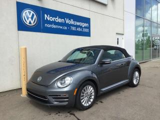 Used 2019 Volkswagen Beetle Convertible Wolfsburg Edition for sale in Edmonton, AB