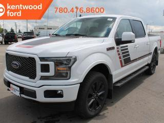 Used 2019 Ford F-150 LARIAT 502A 3.5L V6 Ecoboost 4X4 Supercrew, Auto Start/Stop, Pre-Collision Assist, Remote Keyless Entry/Keypad, Remote Vehicle Start, Reverse Camera System for sale in Edmonton, AB