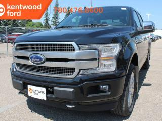 New 2019 Ford F-150 Platinum 700A 3.5L V6 Ecoboost 4X4, Power Heated/Ventilated Leather Seats, Auto Start/Stop, Navigation, Pre-Collision Assist, Remote Keyless Entry/Keypad, Remote Vehicle Start, Reverse Camera System for sale in Edmonton, AB