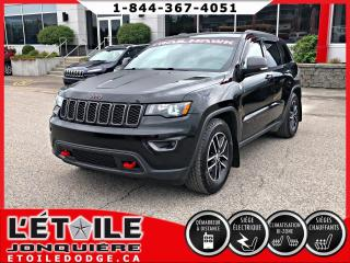 Used 2017 Jeep Grand Cherokee TRAILHAWK V6, DEMARREUR A DISTANCE, CAME for sale in Jonquière, QC