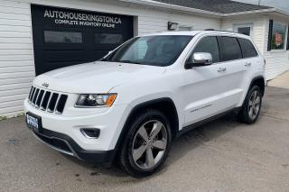 Used 2015 Jeep Grand Cherokee for sale in Kingston, ON