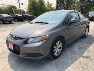 Used 2012 Honda Civic LX for sale in Stouffville, ON