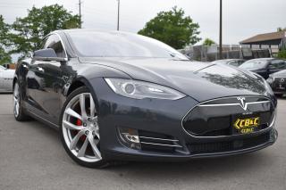 Used 2015 Tesla Model S P90D-LUDICROUS+ARACHNIDWHEELS-RARE 7 SEATER-LOW KM for sale in Oakville, ON