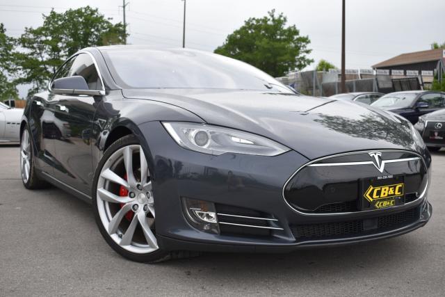 2015 Tesla Model S P90D-LUDICROUS+ARACHNIDWHEELS-RARE 7 SEATER-LOW KM
