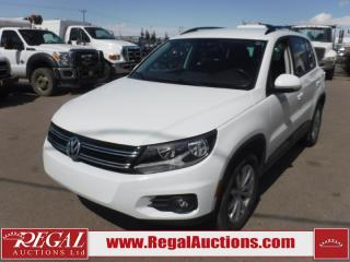 Used 2017 Volkswagen TIGUAN WOLFSBURG 4D UTILITY 4MOTION 2.0L for sale in Calgary, AB