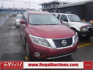 Used 2013 Nissan Pathfinder 4D Utility 4WD for sale in Calgary, AB