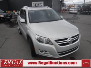 Used 2011 Volkswagen TIGUAN TRENDLINE 4D UTILITY 4MOTION for sale in Calgary, AB