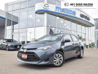 Used 2018 Toyota Corolla LE|FINANCE AVAILABLE|NO ACCIDENTS for sale in Mississauga, ON