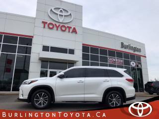 Used 2017 Toyota Highlander XLE LOADED for sale in Burlington, ON