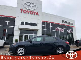 Used 2017 Toyota Corolla LE REMOTE START for sale in Burlington, ON