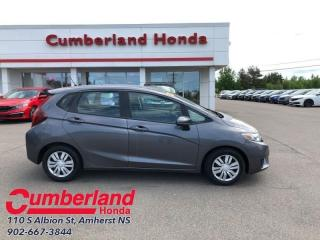 Used 2015 Honda Fit LX  - Bluetooth -  Cruise Control for sale in Amherst, NS
