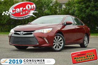 Used 2016 Toyota Camry XLE LEATHER NAV SUNROOF HTD SEATS LOADED for sale in Ottawa, ON