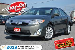 Used 2014 Toyota Camry XLE LEATHER NAV SUNROOF REAR CAM LOADED for sale in Ottawa, ON