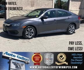 Used 2018 Honda Civic Sedan LX *B.tooth/Htd Seats/B.Cam for sale in Winnipeg, MB
