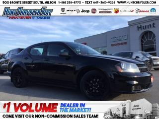 Used 2014 Dodge Avenger BLACKTOP | ALLOYS | GREAT SHAPE!!! for sale in Milton, ON