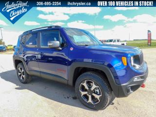 New 2019 Jeep Renegade Trailhawk 4x4 | Remote Start | Bluetooth for sale in Indian Head, SK