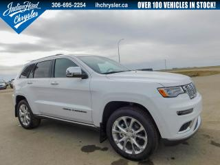 New 2019 Jeep Grand Cherokee Summit 4x4 | Leather | Nav | Bluetooth for sale in Indian Head, SK