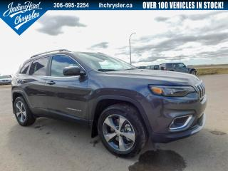 New 2019 Jeep Cherokee Limited 4x4 | Leather | Bluetooth | Nav for sale in Indian Head, SK