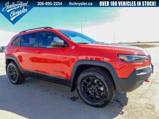 New 2019 Jeep Cherokee Trailhawk 4x4 | Leather | Sunroof for sale in Indian Head, SK