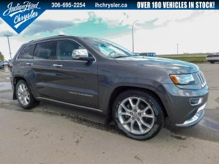 Used 2014 Jeep Grand Cherokee Summit 4x4 | Nav | Bluetooth | Sunroof for sale in Indian Head, SK