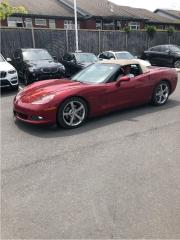 Used 2008 Chevrolet Corvette Convertible Navi for sale in Ottawa, ON