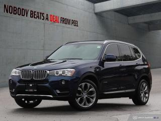 Used 2017 BMW X3 Xline*Sunroof*Harmankardon*Rearview CAM*Clean* for sale in Mississauga, ON