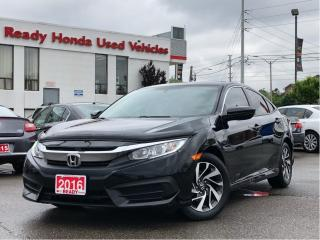 Used 2016 Honda Civic Sedan EX - Lane Watch - Rear Camera for sale in Mississauga, ON