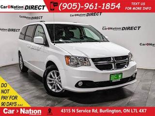 Used 2019 Dodge Grand Caravan Premium Plus| NAVI| DVD| LEATHER-TRIMMED SEATS| for sale in Burlington, ON
