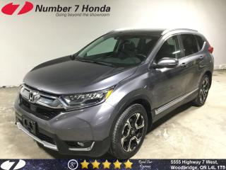 Used 2017 Honda CR-V Touring| Loaded| Leather| Navi| for sale in Woodbridge, ON