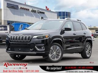 New 2019 Jeep Cherokee Overland 4x4 for sale in Etobicoke, ON