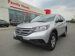 Used 2014 Honda CR-V LX, BACK UP CAMERA, ECO MODE for sale in Brampton, ON
