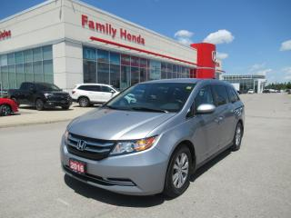 Used 2016 Honda Odyssey EX, REVERSE CAM, HEATED SEATS for sale in Brampton, ON