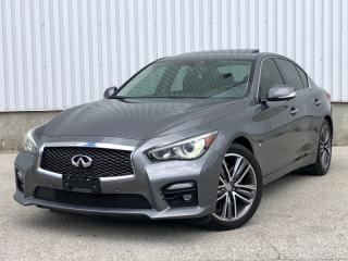 Used 2014 Infiniti Q50 Q50S AWD|Navi|360 Cam|Blind Spot|WE FINANCE EVERYONE for sale in Mississauga, ON