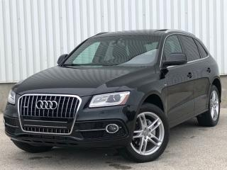 Used 2014 Audi Q5 Quattro S Line|Navi|Accident Free|Financing Available for sale in Mississauga, ON
