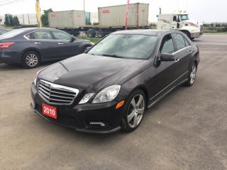 Used 2010 Mercedes-Benz E-Class 350, 4MATIC. LUXURIOUS. WE FINANCE EVERY ONE, REGARDLESS!! for sale in Brampton, ON