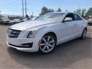 Used 2015 Cadillac ATS 2.5L |New Tires| Bluetooth | 202HP | Clean Carfax| for sale in St Catharines, ON