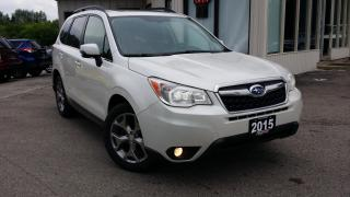 Used 2015 Subaru Forester 2.5i Limited 2015 Subaru Forester 2.5i Limited - LEATHER! NAV! BACK-UP CAM! for sale in Kitchener, ON